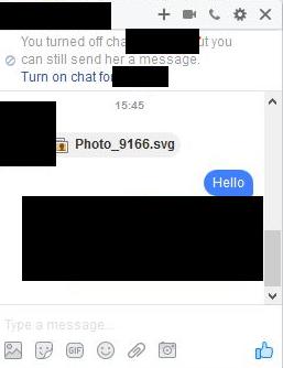 페이스북을 통한 악성 SVG 유포